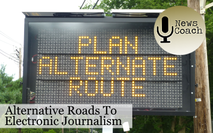 Alternative roads to electronic journalism