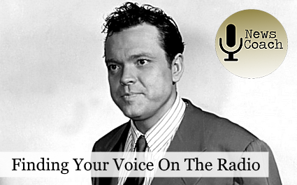 Finding Your Voice on the Radio